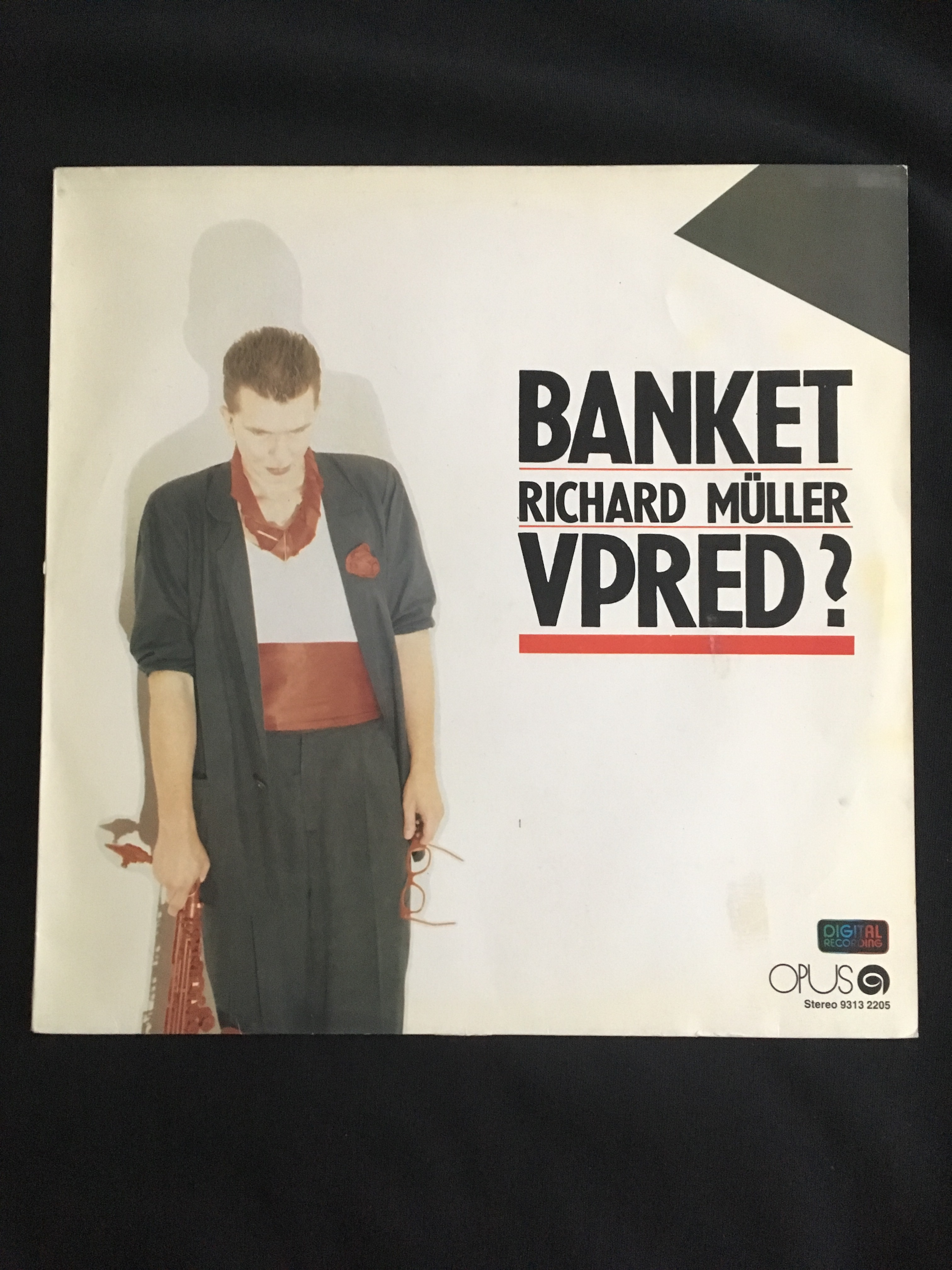 Banket-Richard Müller -vpred?