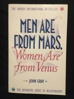 John Gray-Men are from mars,Women are from venus
